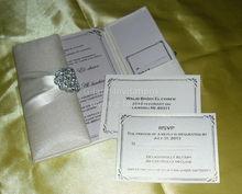 Wedding invitation folio
