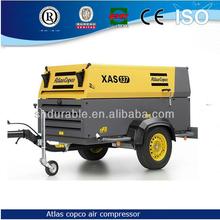 compressor portable,58KW XAS 137 Atlas Copco mobile Air Compressor