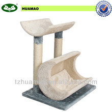 small indoor cat tree&sisal pet product& pet toys