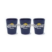 lyT382 Wholesale V Shape Shot Glasses Corona Shot Glass Custom Branded Corona Beer Glass Promotional Colored Corona Glassware