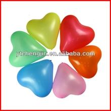 Romantic heart shape logo printed balloons led/led animated inflatables