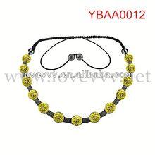 sunshine lucky rhinestone bracelet