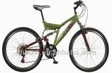 Full suspension mountain bike,high quality cheap 26'' mountain bicycle