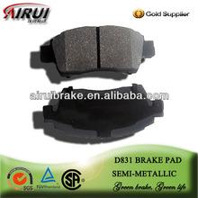 D831 1999 TOYOTA Platz/vios /yaris brake pad