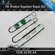8D0837462 FOR Audi A4 B5 8D2 8D5 Saloon Estate 1994-2001 1 Set Cable + 1 Roller + 2 Sliders