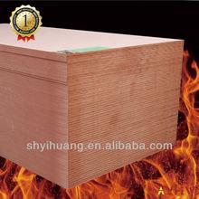 fireproof MDF board E2 glue of 12mm