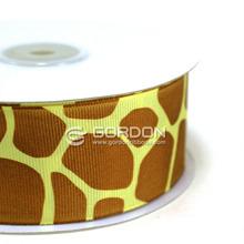 Giraffe Print Grosgrain Ribbons 1.5 Inch,Customer Printed Ribbon