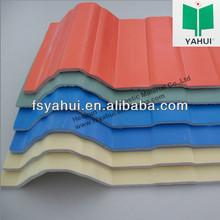 Trapezoidal Carbon Fiber Upvc Roof Tile