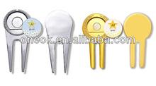 custom golf ball marker/ golf hat clip/ chaep golf ball marker