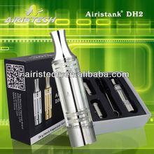 2014 Airistank DH2 Newest Personal Portable Pen Dry Herb Vaporizer Kit custom mason jar silicone lids