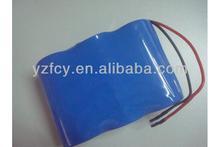 11. 1V durable rechargeable lithium ion battery packs 18650 li-lon battery pack