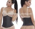 Ann de michell 3 fila de cintura cincher clásico de alta compresión de látex- cintura fajas