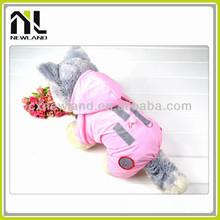 Hot sale pretty wholesale waterproof fashion raincoat for small dogs