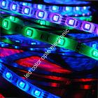 Flexible waterproof rgb 5050 led strip lumens 12v