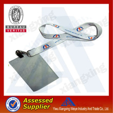 clear soft plastic id card holder with zipper pocket China Supplier