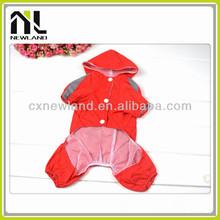 Hot sale pretty wholesale waterproof fashion cheap summer dog raincoat