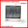 LCD display digital clock hygrometer (S-WS14)