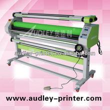 china cold l laminating machine double heat graphic glue laminator ADL-1600C1