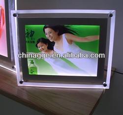 LED Lighting Acrylic Photo Frame