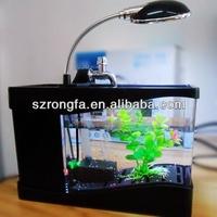 Hot sale high quality small indoorfish aquarium at low price