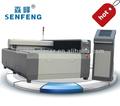 Sf1325sh 1300*2500mm co2 rf laser balsa bois et métal gravure machine de découpe