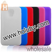 High quality Pure Color Frosted Antiscratch Soft Silicone Back Cover Case for Samsung Galaxy S5 I9600