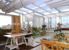 heat insulation glass green sun room