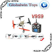 2014 toys on sale !! 2.4Ghz 4ch MULTI-FUNCTION V959 V969 V979 V989 V999 wl toys wl v959 camera rc quadcopter