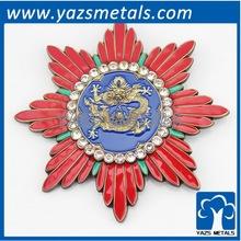 custom flower metal decorations, with logo design