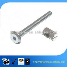 zinc plated furniture screws for metal bunk beds