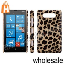 Leopard Pattern PC Hard Protective Case Back Cover for Nokia Lumia 820