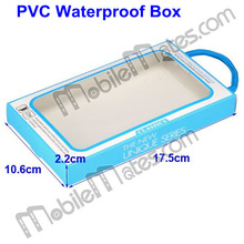 10.6x17.5x2cm Mobile Phone Package Case, Wholesale Transparent Cell phone Retail PVC Box Bag from alibaba china supplier
