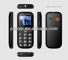 sos elder bluetooth cell phone,GSM large keyboard color screen cell phones easy to use for old man