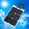 Small flexible solar panel 12v OEM intelligent design for boats,yacht ,caravan use