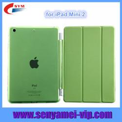 For case ipad mini 2, leather case for ipad mini 2,for new ipad mini