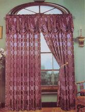 100% jacquard window curtain