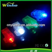 4colors option wholesale led flashing light laser finger beam can print your logo