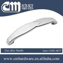 Kitchen Cupboard Cabinet Door Handle Chrome Zamak Handles Chrome 160mm