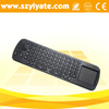air mouse with hebrew keyboard for smart tv 2.4G Remote Control RC12 Air Mouse + Wireless Touchpad Keyboard For PC TV BOX
