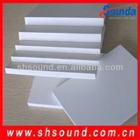 High density rigid polyurethane foam sheet