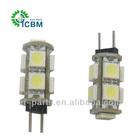 interior lamp G4-5050-7SMD-white led lighting bulb