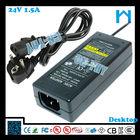 24v 1.5a power adapter 36W UL CE CSA