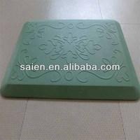 Polyurethane shock absorbing massage gym rubber floor mat