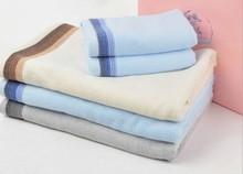 Hebei Gaoyang towel factory direct opal brown grey green 36*76cm 70*140cm jacquard dobby bamboo cotton towel set wholesale