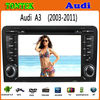 2 din 7 inch android touch screen gps for car dvd Audi A3