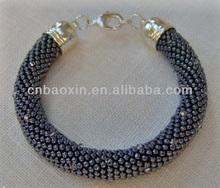 2014 Fashion cheapest bracelet snake argent