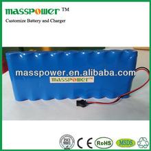 6600mAh lithium battery pack 14.8v