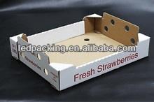 The durable tray corrugated carton box