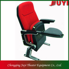 JY-606 metal legs cinema hall chair with armrest chair folding chair without legs
