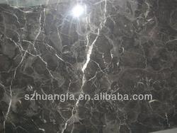 Polished Dark Emperador Marble Tiles for Flooring and Walls